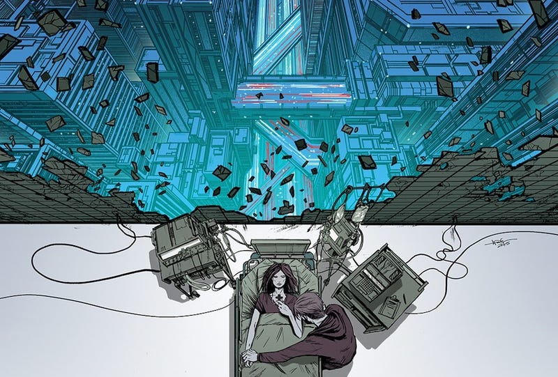Illustration for article titled It's The Matrix Vs. The Apocalypse In This Arcadia #1 Comic Preview