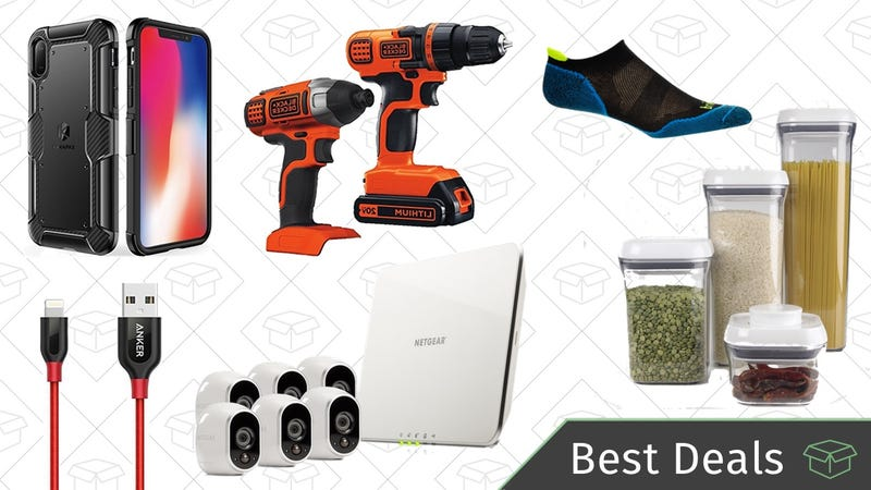 Illustration for article titled Wednesday's Best Deals: iPhone X Accessories, DIY Espresso, Black & Decker Tools, and More