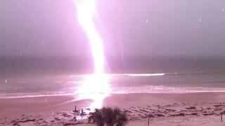 Slow-Motion Lightning
