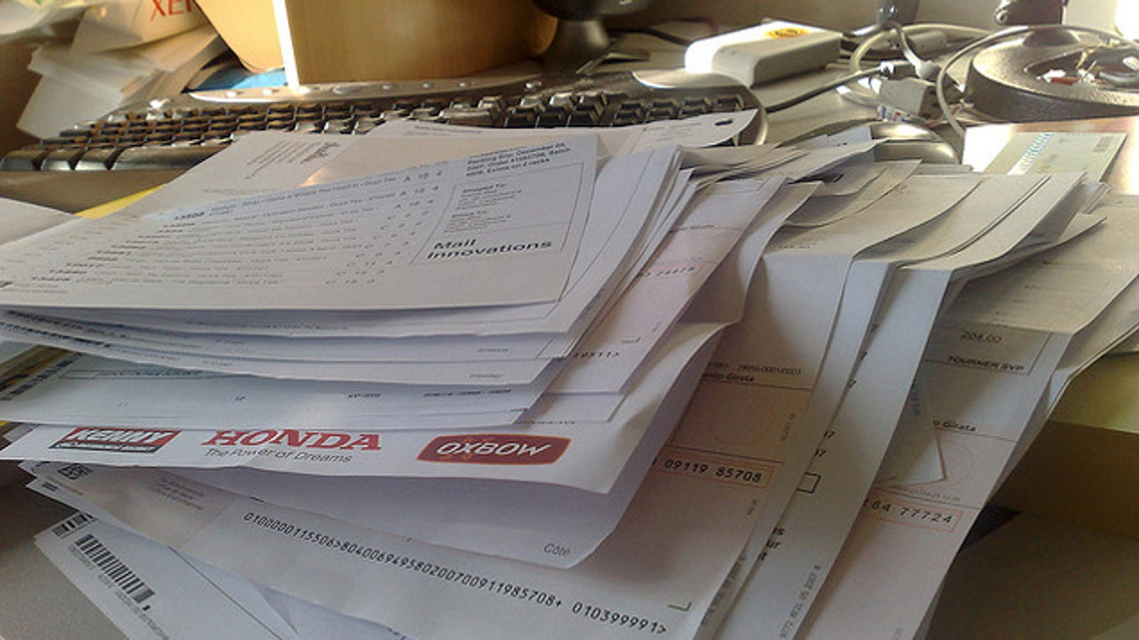 Business paperwork what to keep