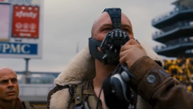 "Christopher Nolan thinks Tom Hardy's ""Brando-esque"" Bane brow has yet to be ""fully appreciated"""