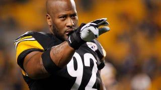 James Harrison of the Pittsburgh SteelersJustin K. Aller/Getty Images