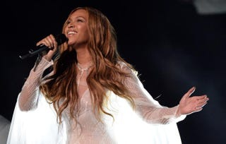 BeyoncéROBYN BECK/AFP/Getty Images