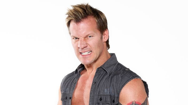 "Illustration for article titled Chris Jericho on how Rednex's ""Cotton Eye Joe"" is ""a tractor beam of shit"""