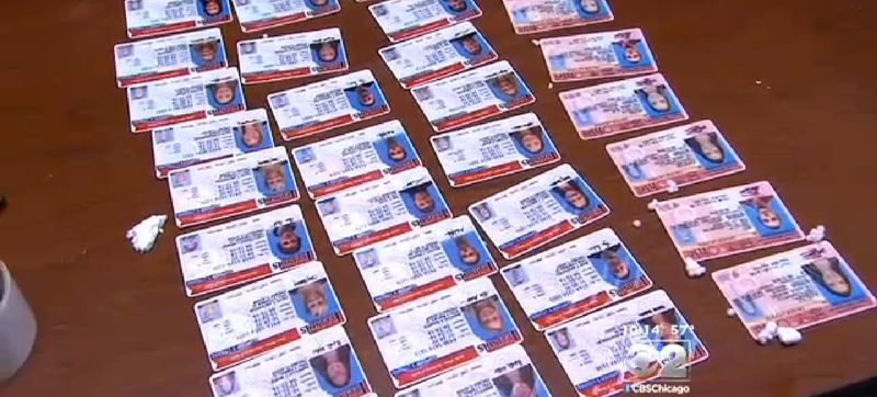 Illustration for article titled China Is Making Near-Perfect Fake American Driver's Licenses