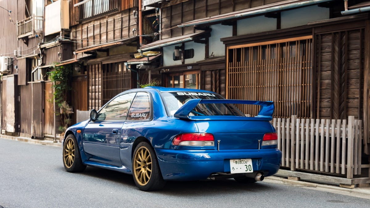 This Guy Converted A Subaru Race Car Into His Street-Legal