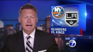 Illustration for article titled Now A New York TV Station Thinks The Islanders Are Playing The Kings In The Stanley Cup Finals