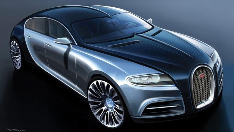 Bugatti Galibier Concept from 2009