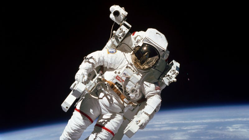 Astronaut Bruce McCandless II in 1984.