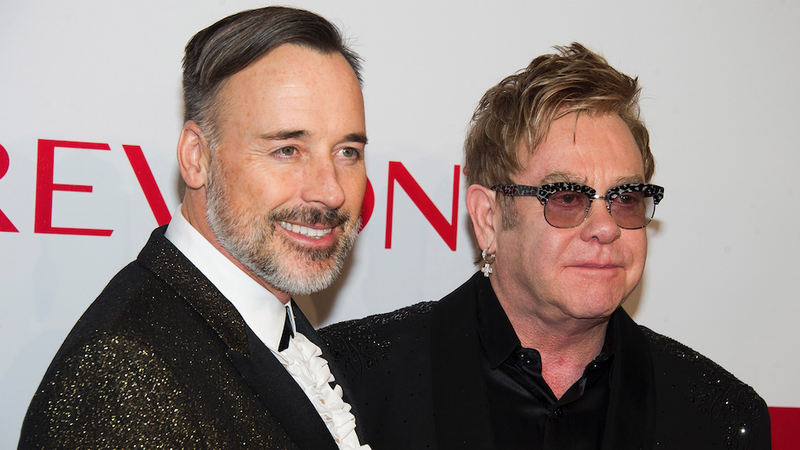 Illustration for article titled Elton John and David Furnish Invited All of Instagram to Their Wedding