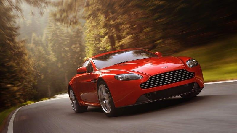 An Aston Martin Vantage.
