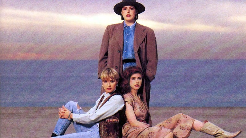 """Illustration for article titled With """"Hold On,"""" Wilson Phillips drew strength from sisterhood"""