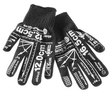 Illustration for article titled Measurement Gloves Give Construction Jobs the Finger