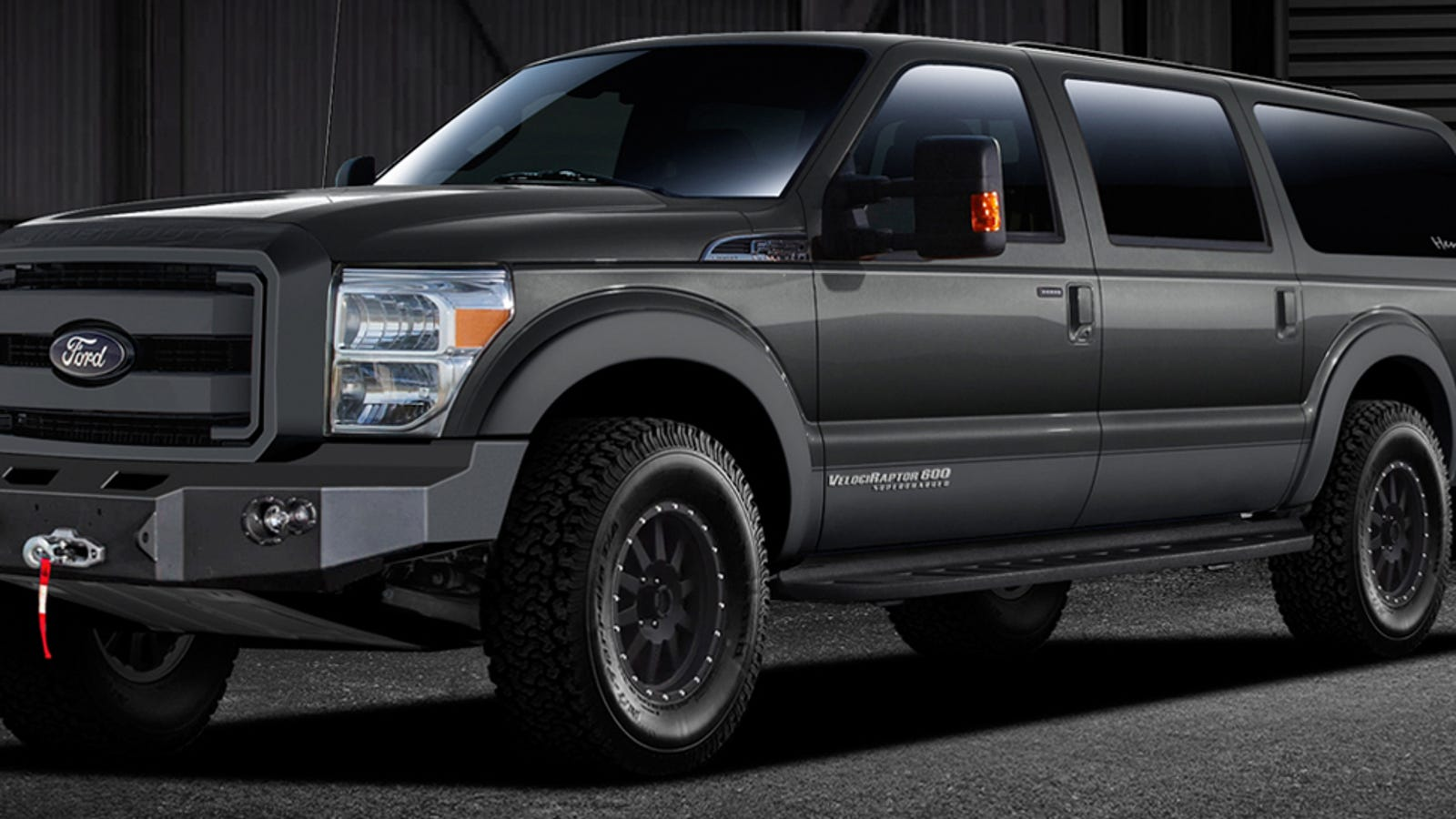This 2015 Velociraptor Is Basically A New Ford Excursion With 650 Hp