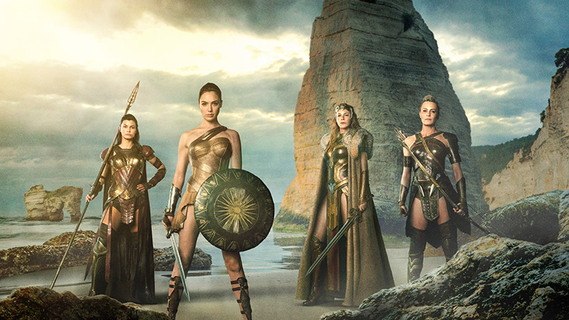Illustration for article titled The Amazons Ride Into Action in New Wonder Woman Set Pictures