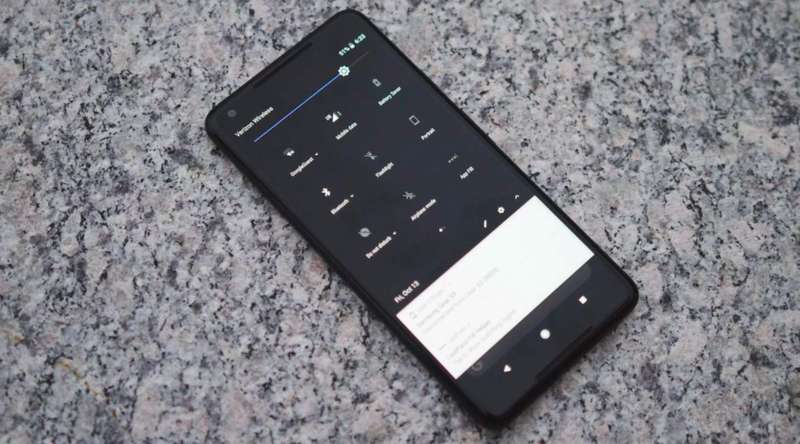 How to Unlock Google's Hidden Dark Theme on the Pixel 2