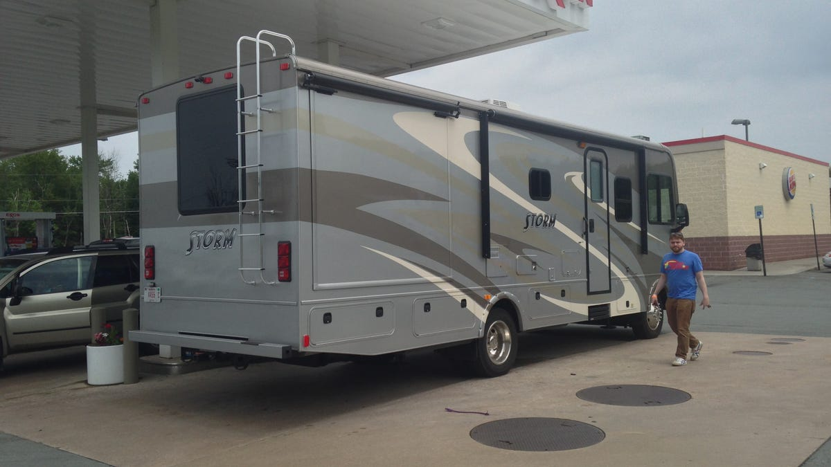 'Storm' Bus-Sized RV Is A Decent House, But A Mediocre Car