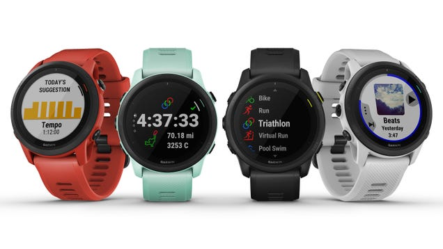 Garmin s New Smartwatch Is Made for Triathletes, Because We Should All Dream Big Right Now