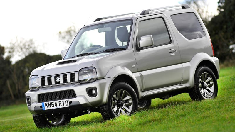 Illustration for article titled 2015 Suzuki Jimny: Five Reasons Why America Needs This Tiny 4x4
