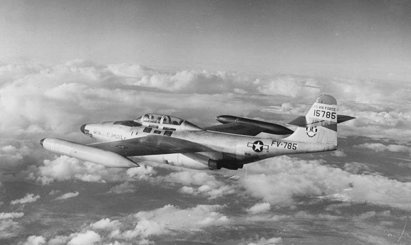 Illustration for article titled Northrop F-89 Scorpion