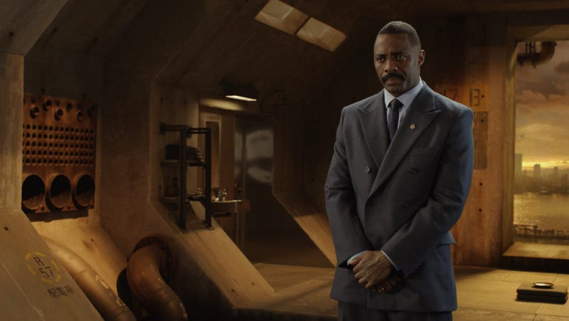 Cancel the apocalypse, Idris Elba has signed on for another sci-fi film.
