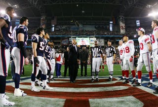 Illustration for article titled Super Bowl XLVIII Propstravaganza! Day One: The Coin Toss