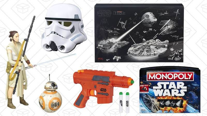 Illustration for article titled Today's best deals: Star Wars toys, Downton Abbey, and more