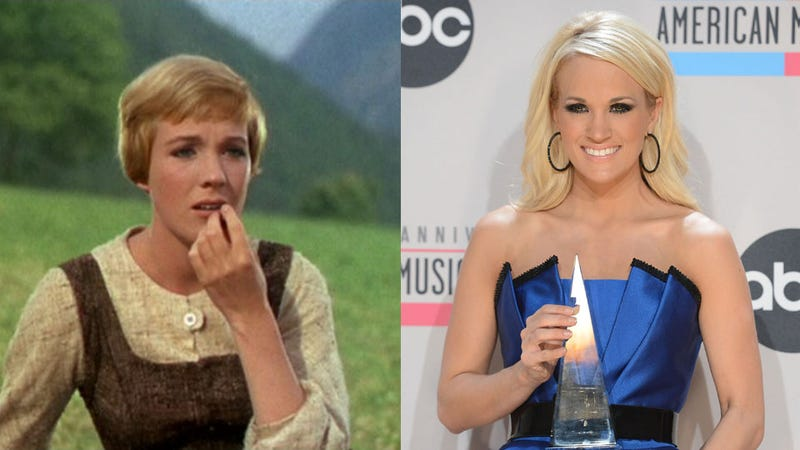 Illustration for article titled Carrie Underwood Will Play Maria in The Sound of Music: The Stages of Grief