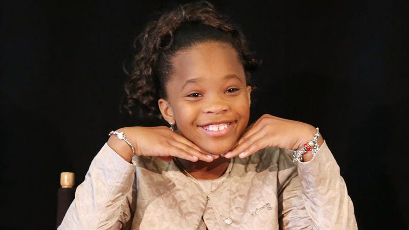 Illustration for article titled Quvenzhané Wallis Celebrates Golden Globe Nomination