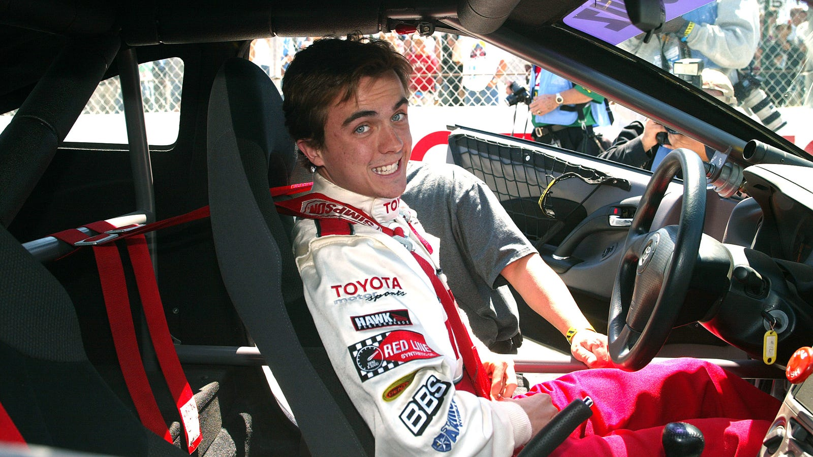 Frankie Muniz Race Car