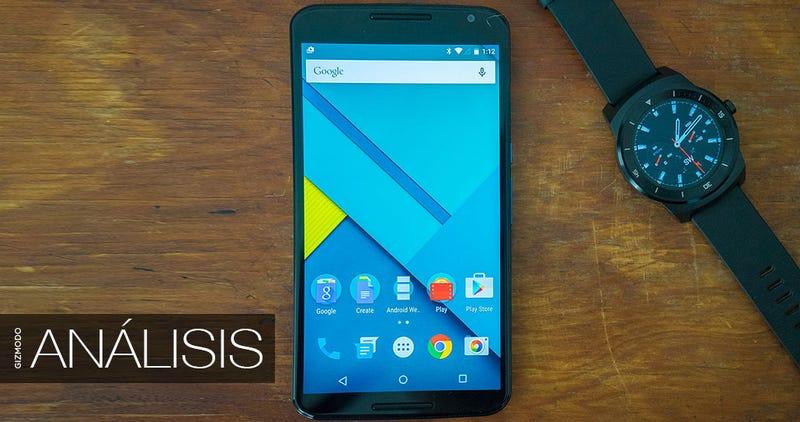 Illustration for article titled Nexus 6, análisis: lo más grande de Google ya está aquí