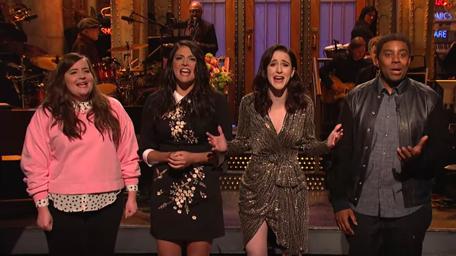 Rachel Brosnahan makes the most of a not-quite-marvelous Saturday Night Live - The A.V. Club thumbnail