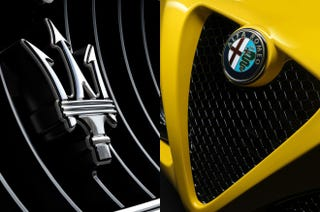 Illustration for article titled Alfa Romeo and Maserati cannot coexist.