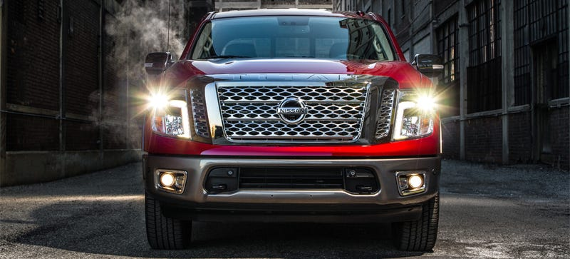 Illustration for article titled This Is The 'Smaller' New Nissan Titan