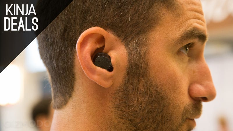 Illustration for article titled Motorola's Impossibly Tiny Hint Bluetooth Headset is Nearly Half Off