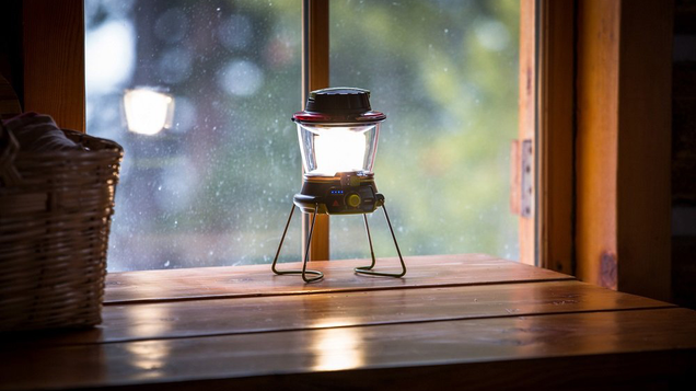 This Goal Zero lantern's internal battery is rechargeable via any USB port or from a Goal Zero Nomad Solar Panel. Or, utilize the built-in hand crank to get a quick charge instantly, so you're never far from the light.