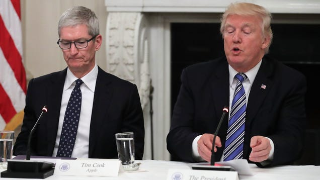 Apple Worries Trump's Planned Tariffs on China Will Hit Apple Watch and Macs Hard