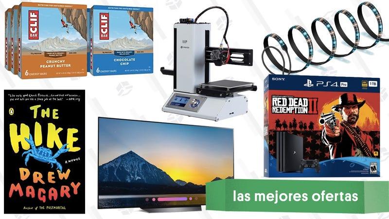 Illustration for article titled Las mejores ofertas de este martes: Televisores OLED, tiras de luces, Red Dead y más
