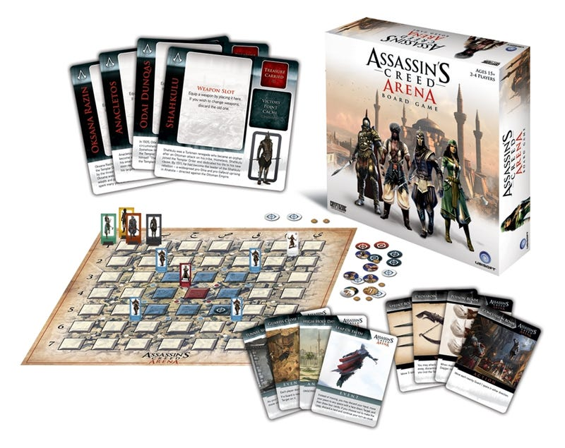 Illustration for article titled Assassin's Creed Has a Board Game; It Comes Out in Two Weeks