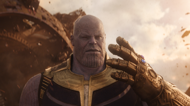 MC Mad Titan, Thanos himself.