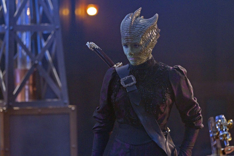 """Illustration for article titled Doctor Who - """"The Snowmen"""" Promo Pics Part 1"""