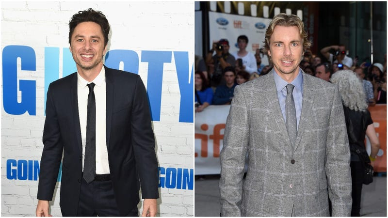 Illustration for article titled We cannot unsee the striking visual similarity between Zach Braff and Dax Shepard