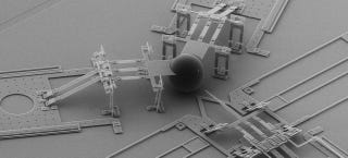 Illustration for article titled This Mechanical Nano-Lance Is One Hundredth the Size of a Human Hair