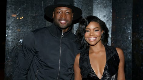 Dwayne Wade And Gabrielle Union Support Son Zion Wade At