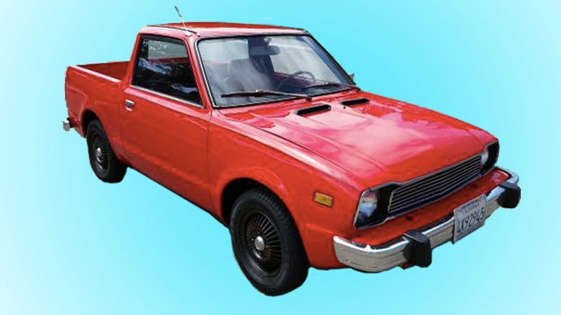This 1977 Honda Civic Actually Makes A Perfect Pickup Truck