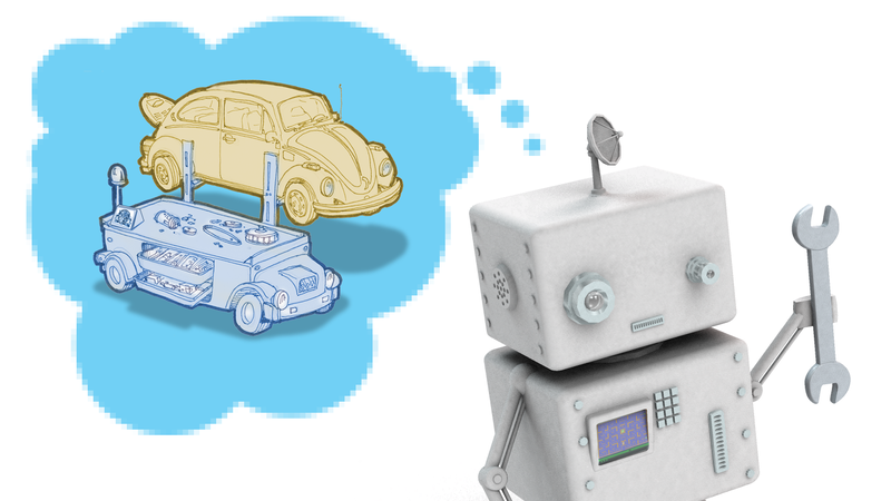 Illustration for article titled Here's One Way Autonomous Vehicles Could Make Owning Old Cars Better