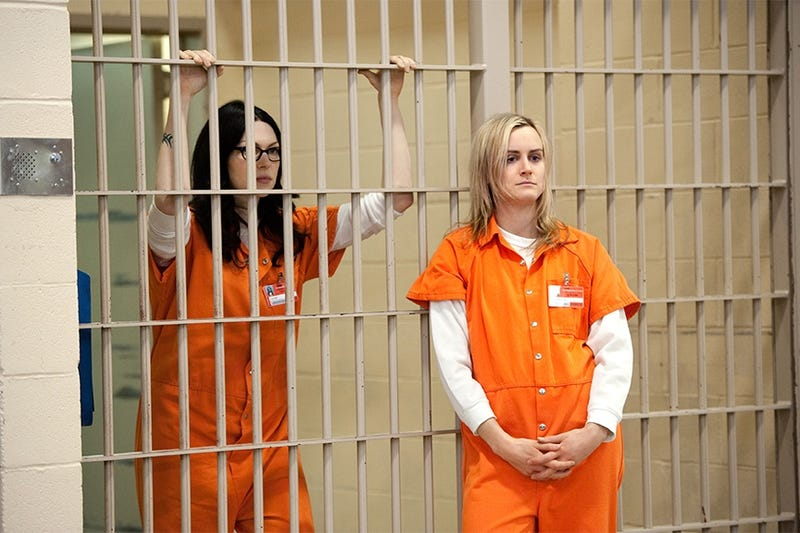 """Illustration for article titled Orange Jumpsuits Are Too 'Cool"""" For Jail"""