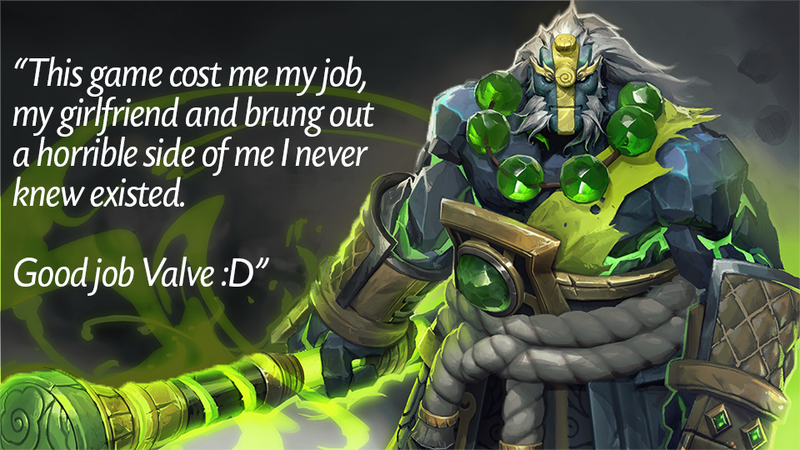 Illustration for article titled Dota 2, As Told By Steam Reviews