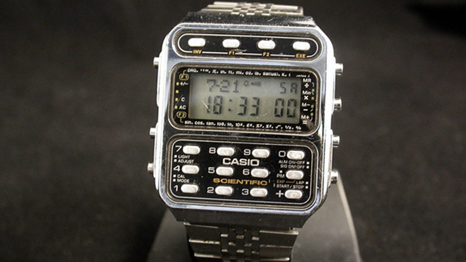 The Straight Up Nerdiest Calculator Watch On The Planet Earth