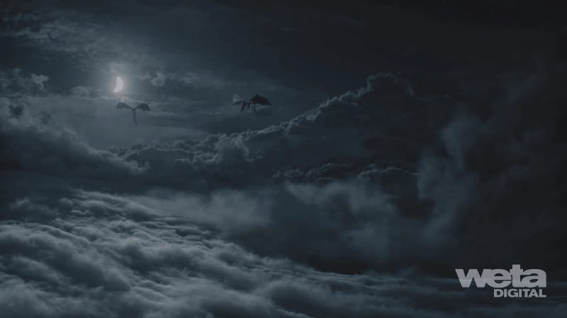 Appreciate the Digital Artistry That Went Into the Game of Thrones Battle You Could Barely See